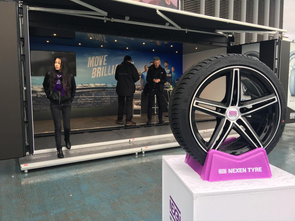 Event container for Nexen Tyres