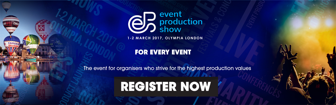 The Events Structure is exhibiting at the Event Production Show