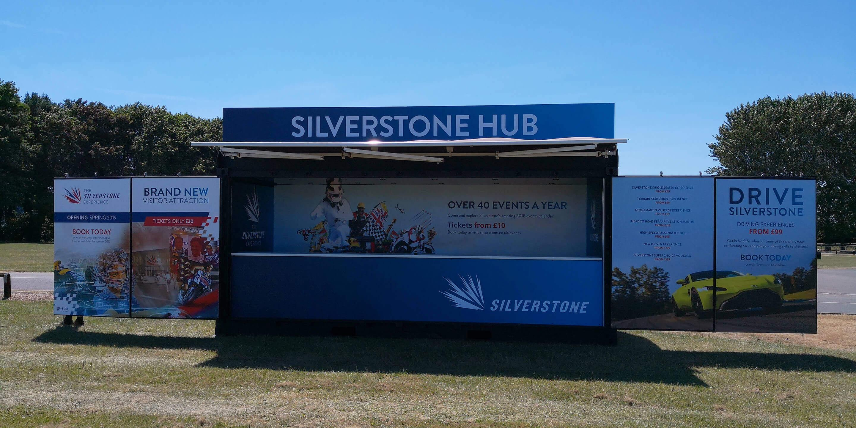 Shipping Container Conversions: Outlet Container for Silverstone Activation