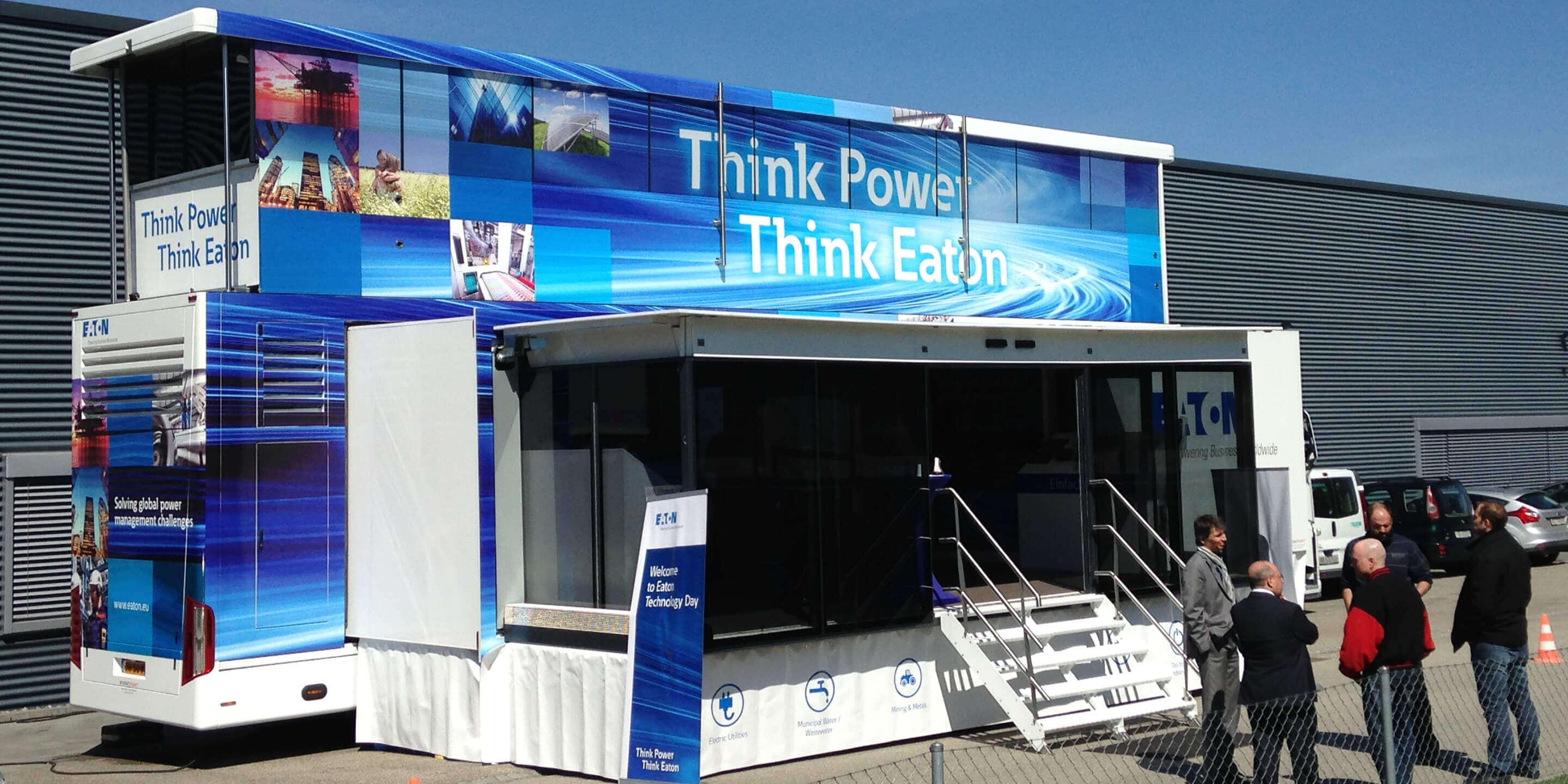 Exhibition Trailers: Premier Roadshow Truck