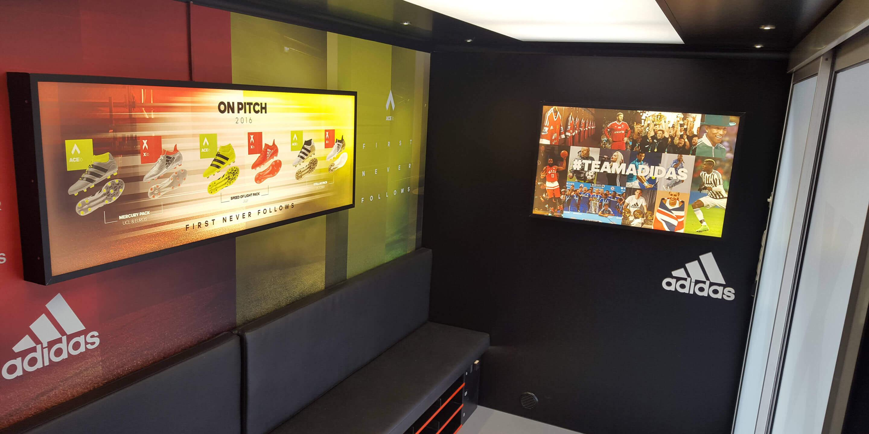 Self-Drive Exhibition Units: Ranger Promotional Vehicle for Adidas Promotion Tour Interior