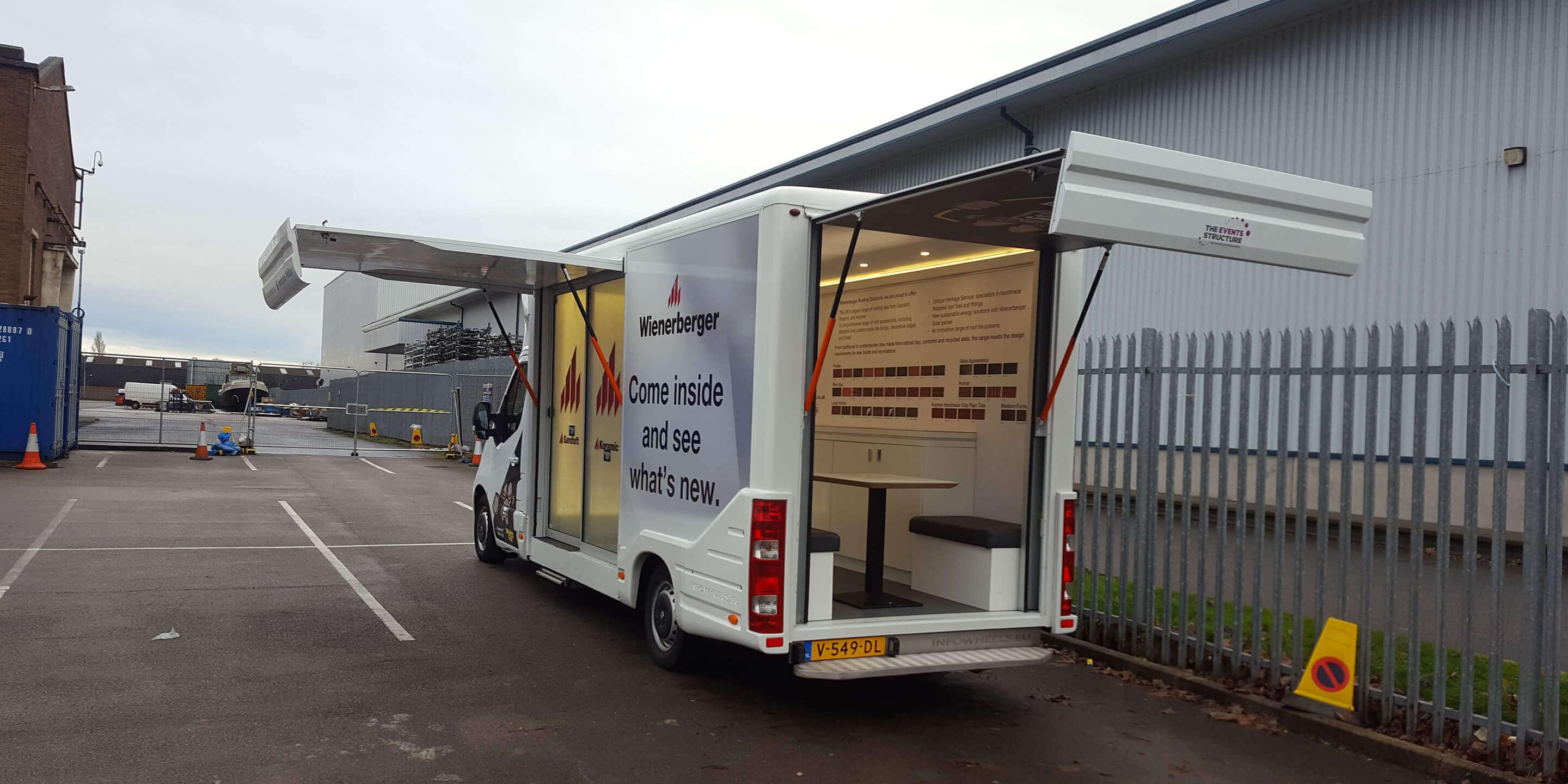 Self-Drive Exhibition Units: Ranger Promotional Vehicle for Weinerberger Promotion