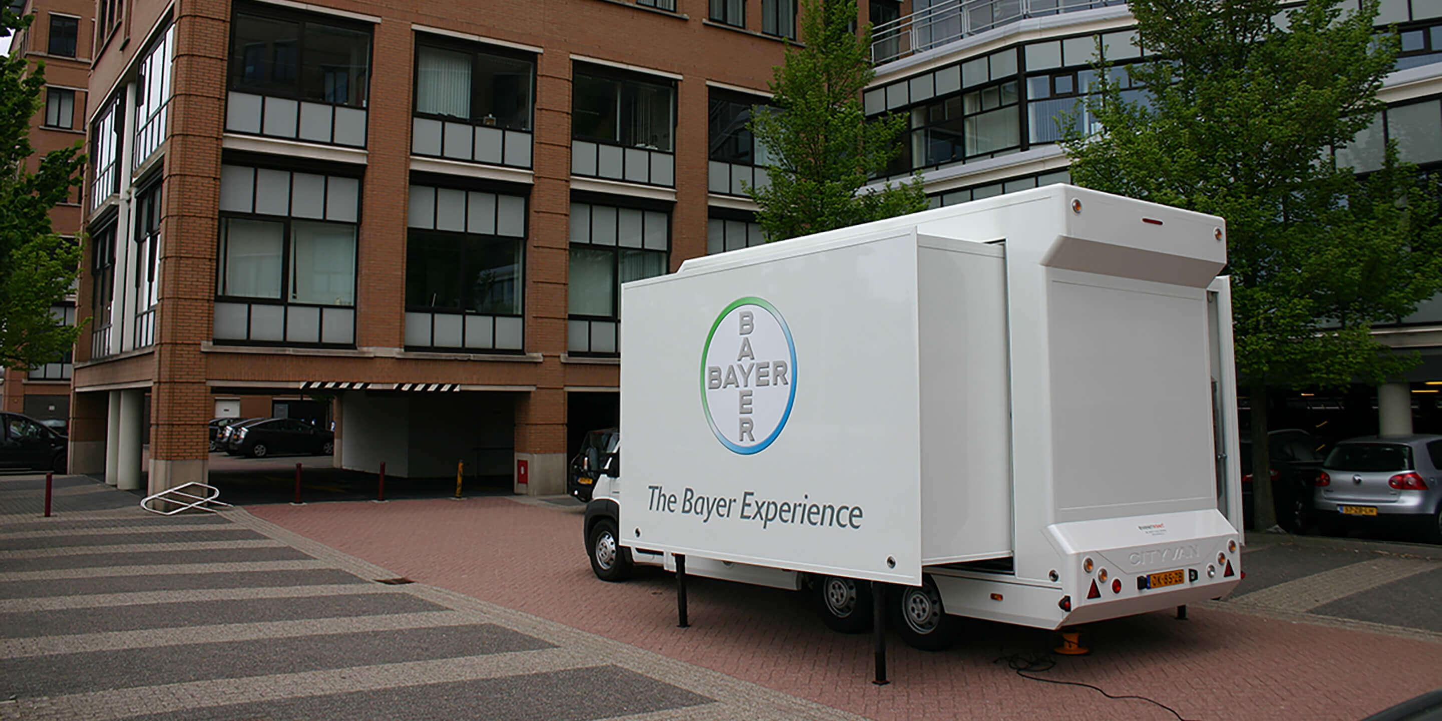 Exhibition Trailers: Relay Promotional Vehicle for Bayer Awareness Tour