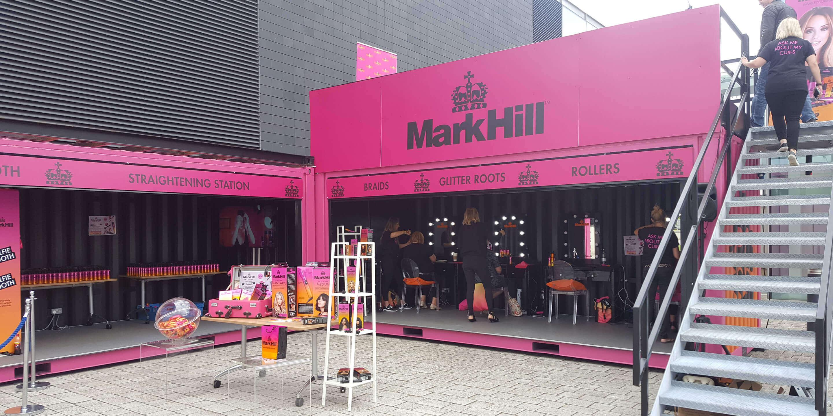 Event Shipping Containers: Statement for Mark Hill Activation