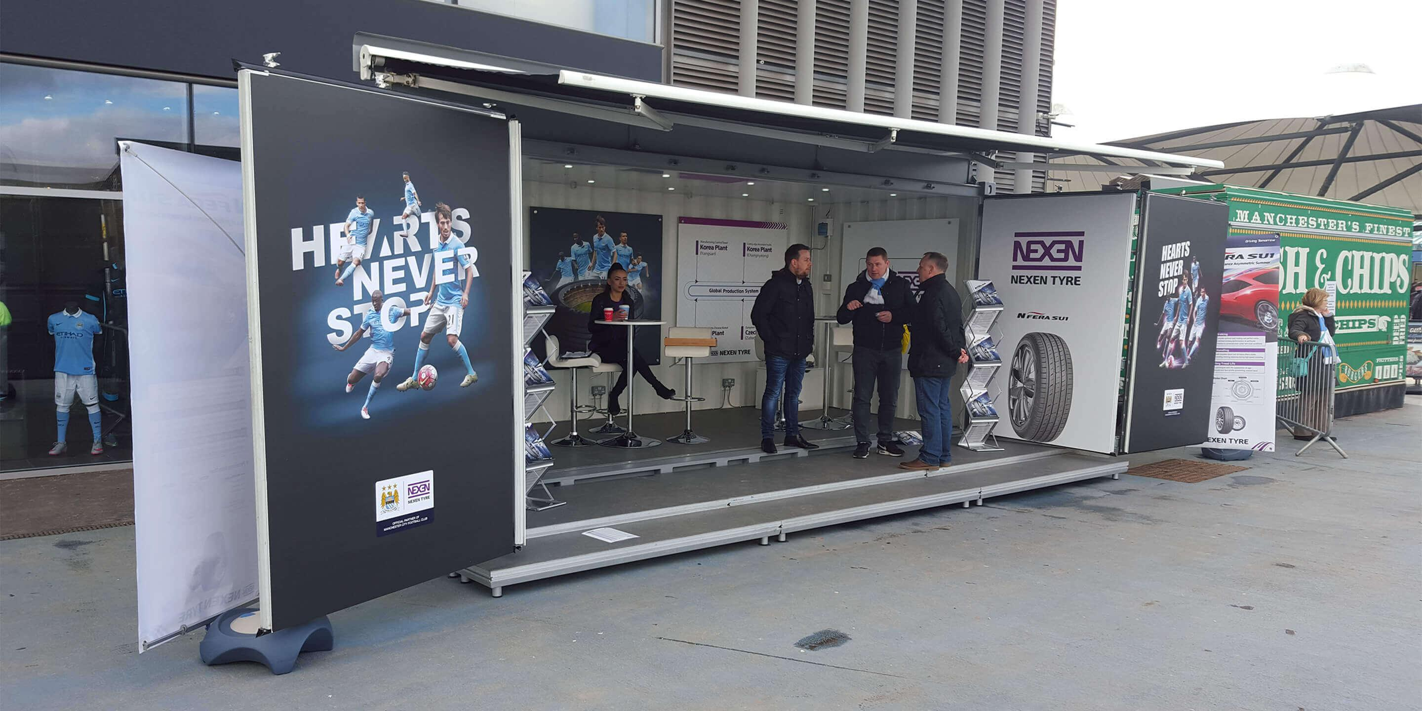 Event Shipping Containers: Studio Event Container for Nexen Activation