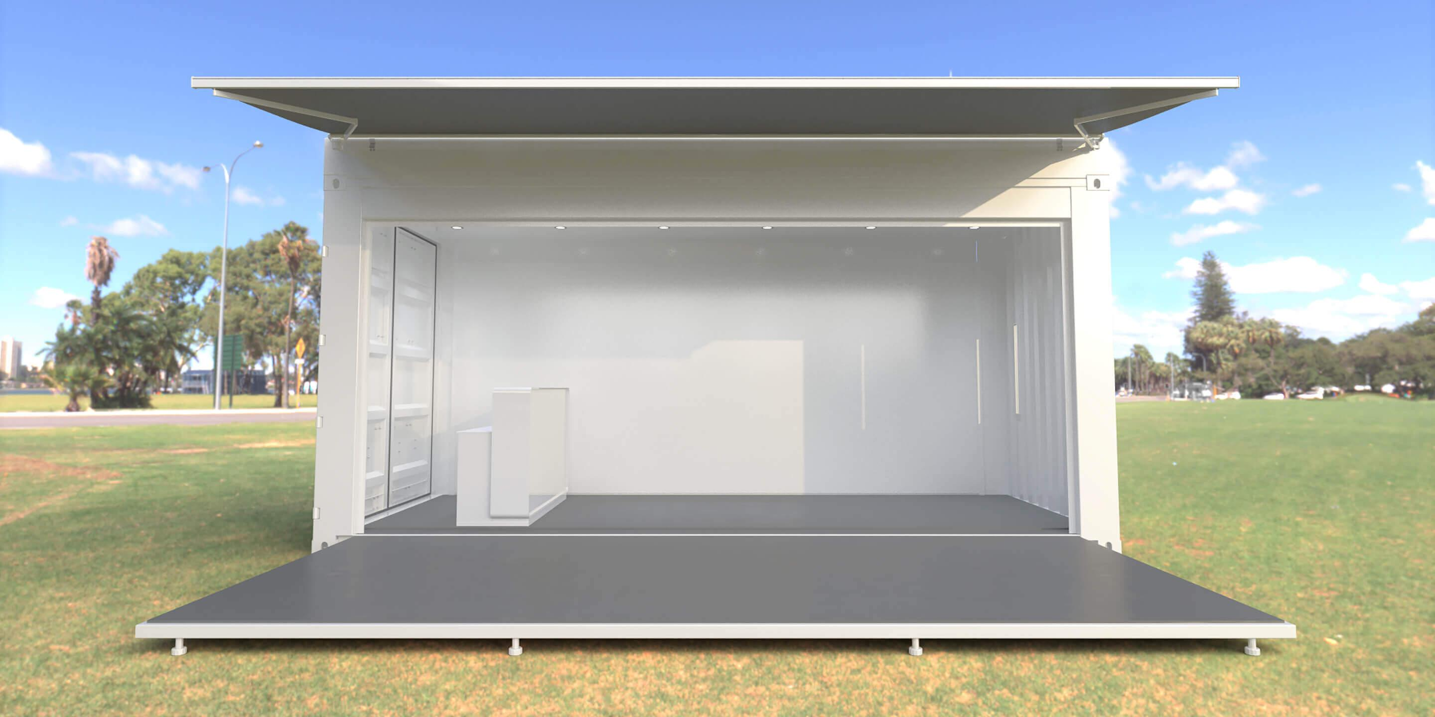 Shipping Container Conversions: Versatile Event Container