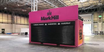 Impact shipping container conversion for tradeshow with Mark Hill