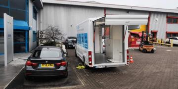 Ranger exhibition unit and promotional vehicle Mettler Toledo